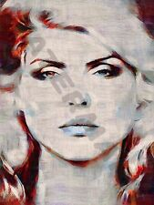 BLONDIE DEBBIE HARRY 80S ART PRINT POSTER OIL PAINTING LFF0018