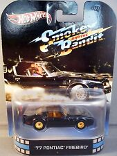 HOT WHEELS RETRO ENTERTAINMENT SMOKEY AND THE BANDIT '77 PONTIAC FIREBIRD