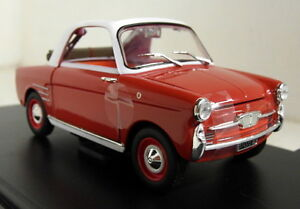 Atlas-1-24-Scale-Autobianchi-Transformable-1958-Display-Case-Diecast-model-car