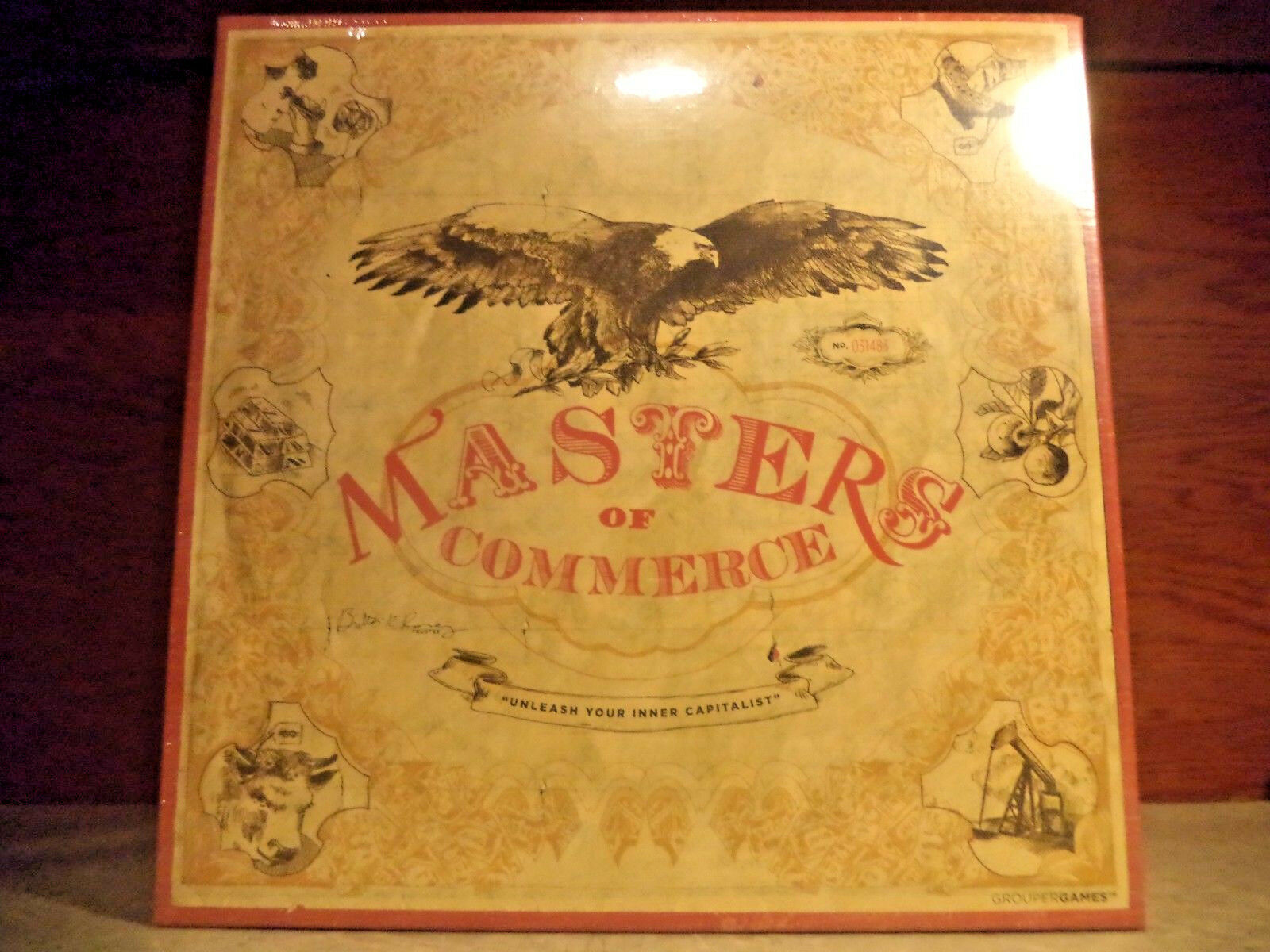 Masters of Commerce-Financier Marché Boursier Board Game Tycoon Jeux Neuf New in Box