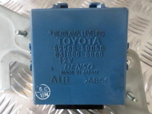 2002 LEXUS LS430 lampada Luci Anteriori Leveling CONTROL UNIT ECU - 89960-50050