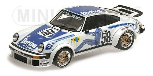Porsche 934 Kremer Racing Wollek Gurdjian Steve Win Gr.4 24h Le Mans 1977 1 18
