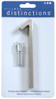 The Hillman Group 843211 5-inch Floating Mount House Brushed Nickel Number 1