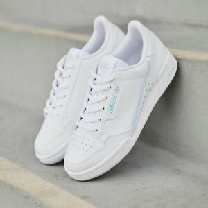 ADIDAS CONTINENTAL 80 TRAINERS GIRLS