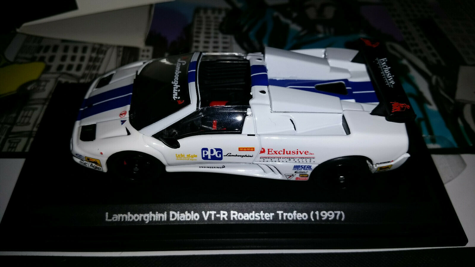 WHITEBOX LAMBORGHINI DIABLO VT-R Roadster Trofeo ( 1997)
