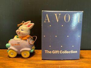 Avon-Easter-Eggspression-Ornament-Egg-Mobile-Rabbit-Bunny-in-Car