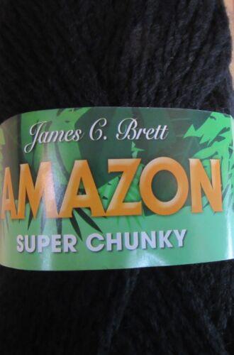 hilo de ganchillo Bolas de James C Brett 100g Amazon Super Grueso 20/% lana