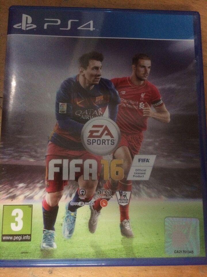 FIFA 16, PS4, sport