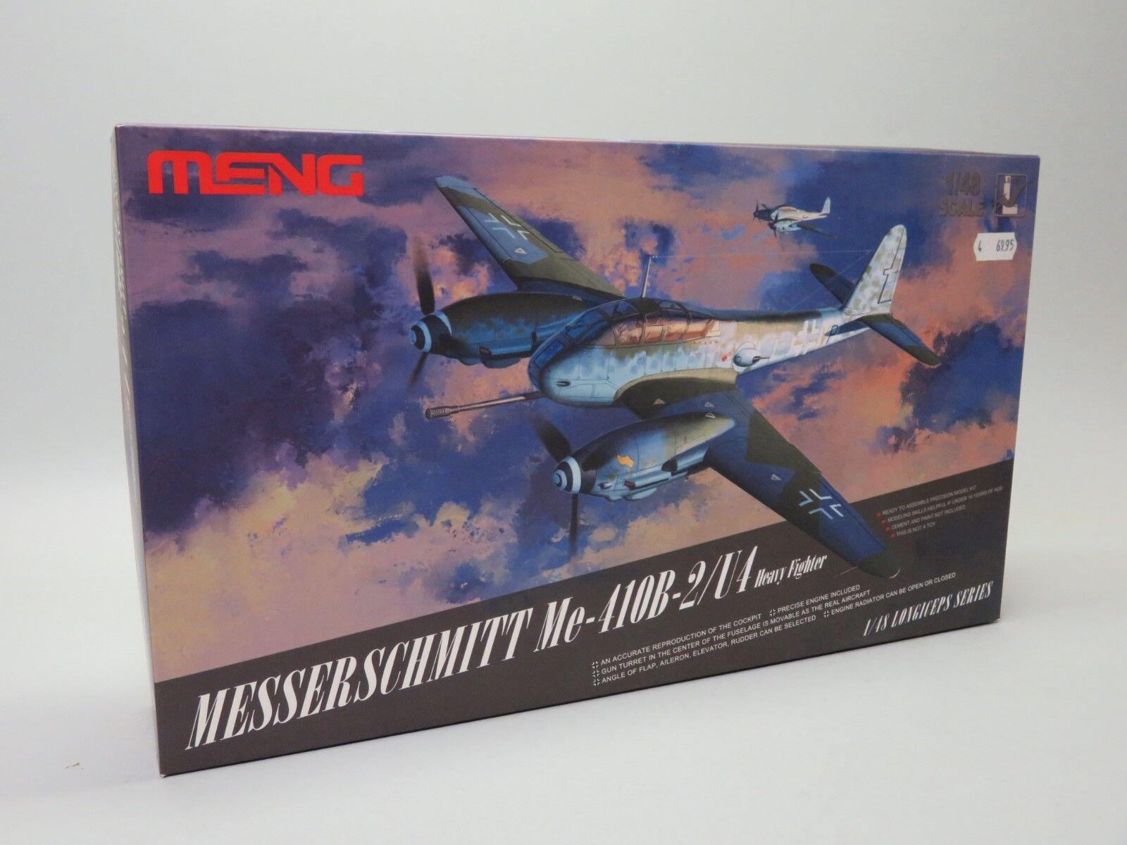 Meng LS-001 1 48 MESSERSCHMITT ME-410B-2 U4 H.F.