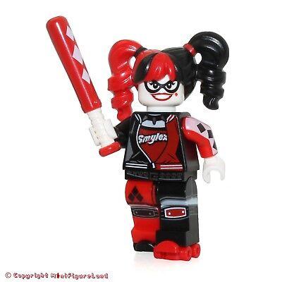 LEGO BRAND NEW HARLEY QUINN MINIFIGURE SUPER HEROS 70922 BATMAN MOVIE FIG SKATES