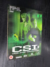 ***CSI: Crime Scene Investigation - Las Vegas - Season 2 Part 2*** FREE P&P