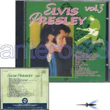 """ELVIS PRESLEY """"VOL.3"""" RARE CD ITALY ONLY - SEALED"""