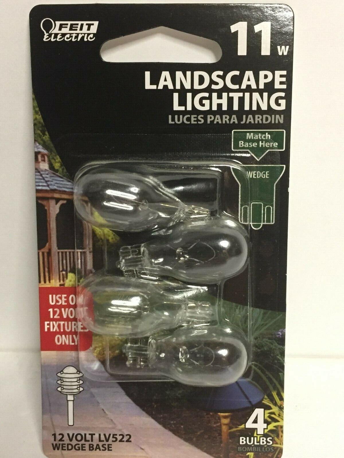 4 Count Feit Electric Bplv522 4 11 Watt 12v Low Voltage Landscape Light Bulbs For Sale Online