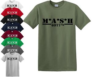 87c85f9b M*A*S*H 4077TH T Shirt/MASH/TV Series/US Army/Military/Father day ...