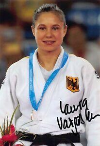 Laura Vargas Koch - GER - Olympia 2016 - Judo - BRONZE - Foto - orig. sig