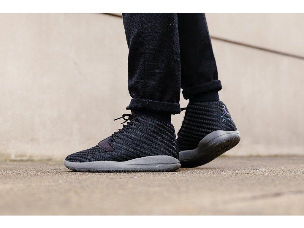 Nike Jordan Eclipse Chukka 881453-001 NOIR Chaussures nouveau messieurs de basket taille 40