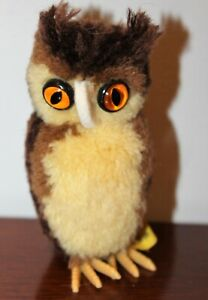Steiff-Miniature-Wool-Owl-7480-09-w-Tag-and-Button