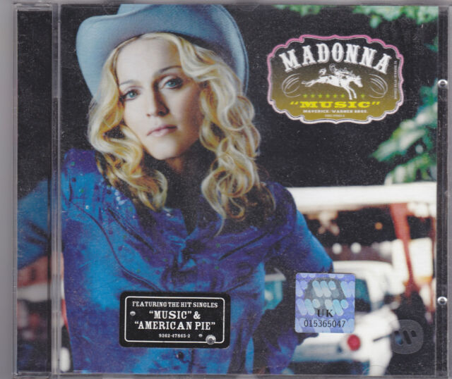 Pop CD - Madonna - Music (CD, New & Sealed) A Great Pop Album