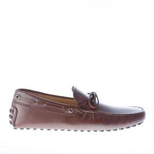 Laccetto Moro Men Di Pelle Tod's Mocassino Scarpe Shoes Gommini Testa Uomo In vZwfEPqU