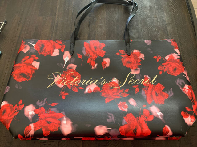 floral tote shopping market bag with roses all over print floral rose design tote bag Tote bag green tote pink roses ladies fashion bag