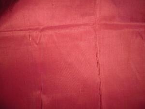 Agressif Tissu Ameublement Soie Rouge Flammé French Fabric Silk 114x53 Cm Les Catalogues Seront EnvoyéS Sur Demande