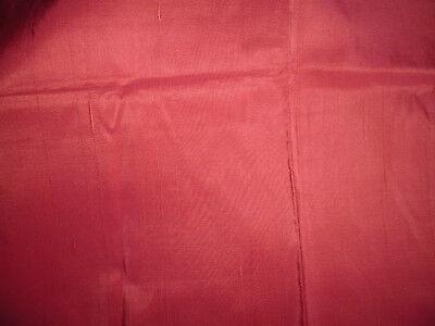 tissu ameublement soie rouge flammé french fabric silk 114x53 cm