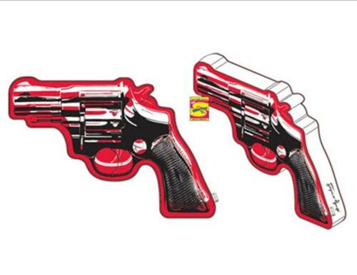 "Kidrobot Andy Warhol XL revolver pistolet peluche NEUF RARE Pre order 30/"" X 22/"" environ"