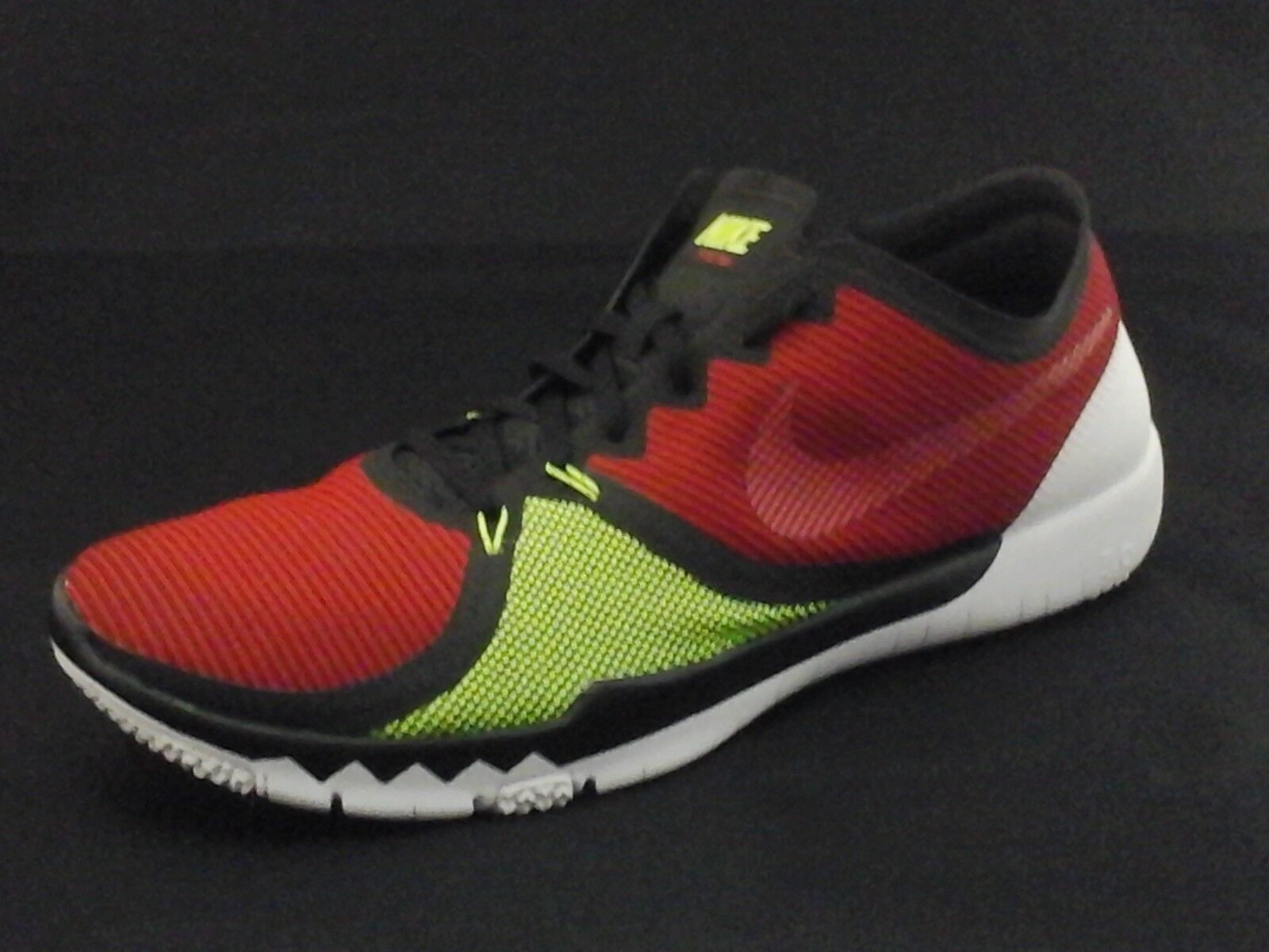 NIKE Free 3.0 shoes Red Neon Yellow Black 749361-066 Running US 13 47.5  120 New