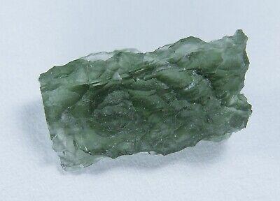 Natural Moldavite Specimen Meteorit Green Tektite Czech Heart Chakra Creativity.