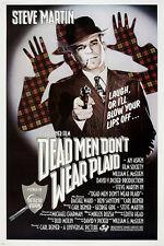 steve MARTIN in DEAD MEN DON'T WEAR PLAID movie poster zany COMEDY 24X36