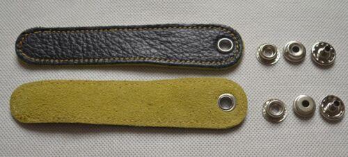 2 pcs Adjustable Accordion  Bellow  Straps  Leather