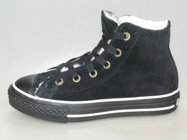 06e8b053e515 Converse Kids Chucks Suede HI YOUTH 311517 Black + new + various sizes