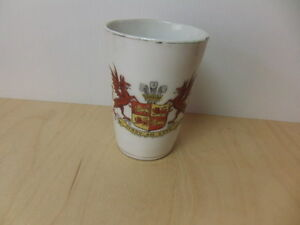 Cymru-Am-Byth-Arms-of-Wales-ceramic-Beaker-c-1910-Made-in-Germany
