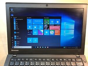 Details about Lenovo Thinkpad laptop X240 i5 4GB 180GB SSD Windows 10 IPS  Screen Webcam