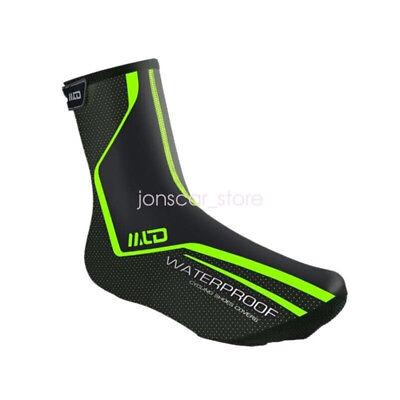 Waterproof Cycling Shoe Covers Bicycle Winter Windproof Thermal Fleece Overshoes