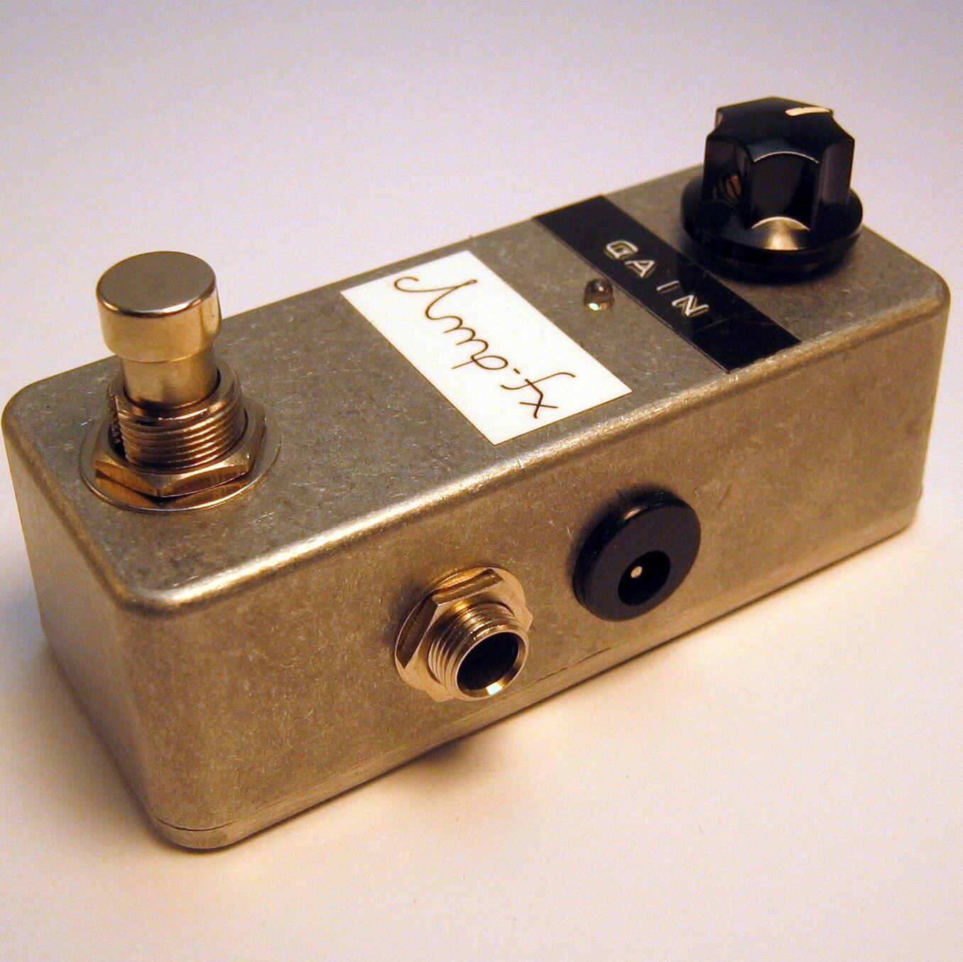 Amp-FX micro amp clean Boost + True bypass MXR mejorado mejorado mejorado Handmade en Berlín  autentico en linea