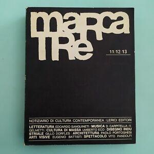MARCATRE Notiziario di cultura contemporanea 11/12/13 1965 - Lerici Editori