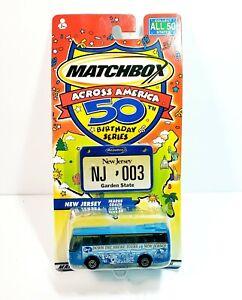 Matchbox-Across-America-50th-Birthday-Series-New-Jersey-Ikarus-Coach-Bus-New