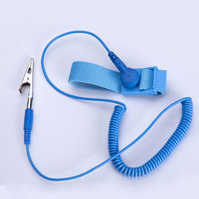 Uzinb Anti Static Wrist Strap Grounding Electricity Discharge ESD Band Bracelet