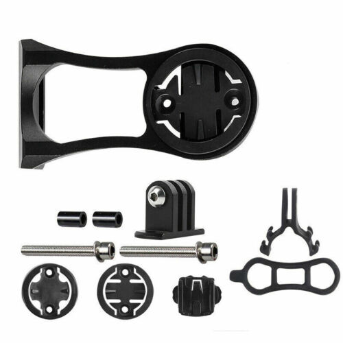 Bike Stem Extension Mount Holder Bracket Adapt For GARMIN GPS GoPro Cateye light