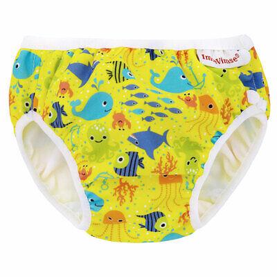 Imse Vimse Schwimmwindel Gelb Meerestiere Badehose Baby Kind Aqua Slip Seven Sea