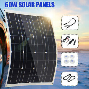 200W-Solar-Panel-Dual-USB-12V-Flexible-Charger-For-Camping-Car-RV-Boat-Battery