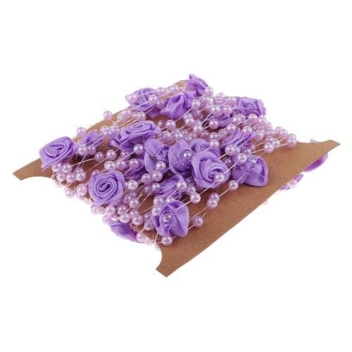 5m lila perlas banda collar de perlas perlengirlande dekoschnur centro de mesa boda