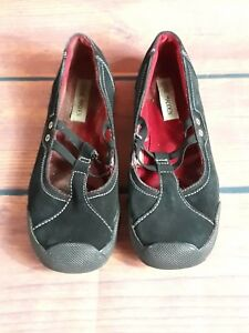 a59eae24107 Details about STEVE MADDEN Suede Mary-Jane tennis shoes sz 7.5 BLACK