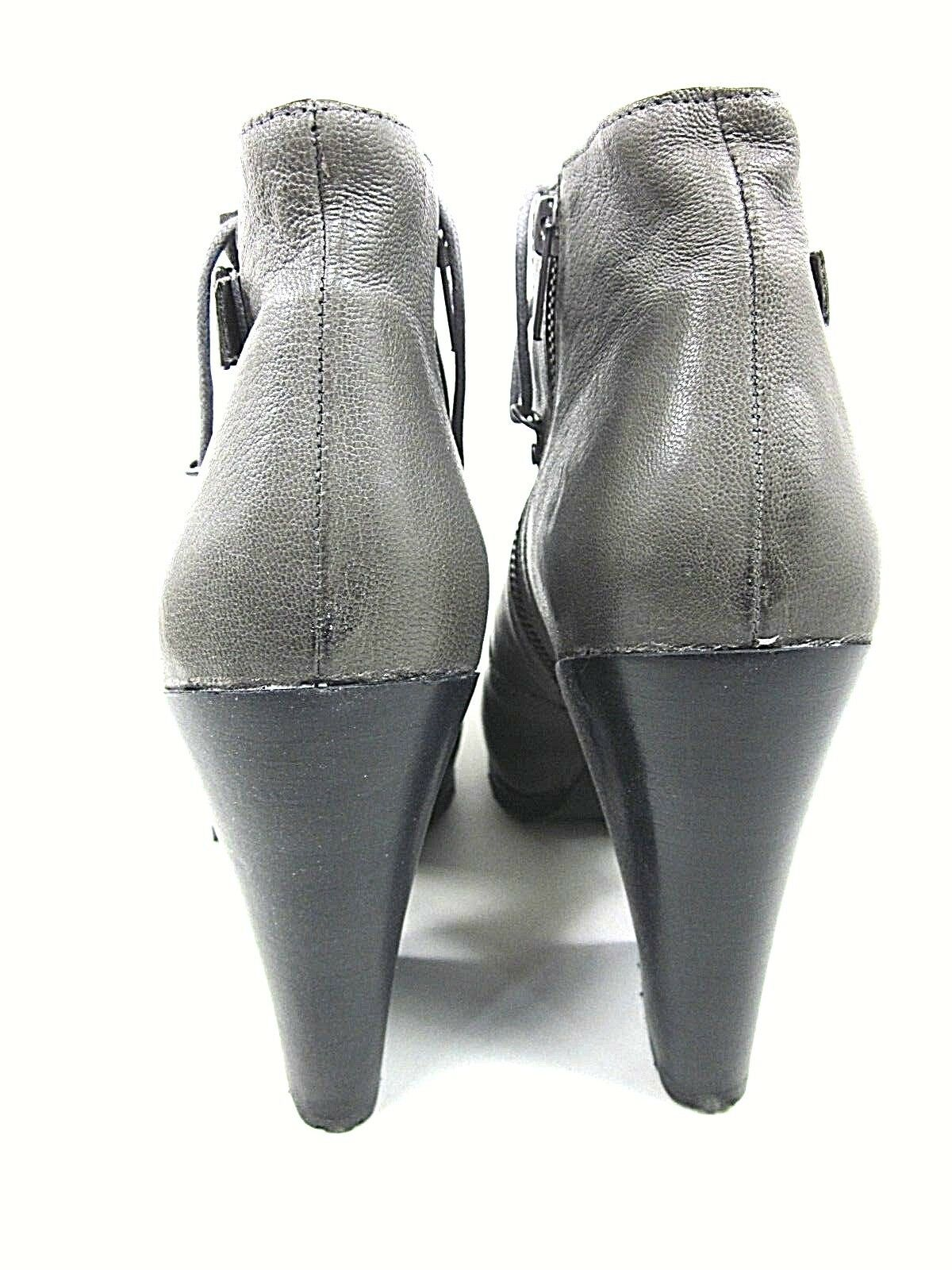 BACIO61 PESANTI ANKLE US BOOT WOMEN'S DUST GREY US ANKLE SIZE 10M NEW WITHOUT BOX 7a47dc