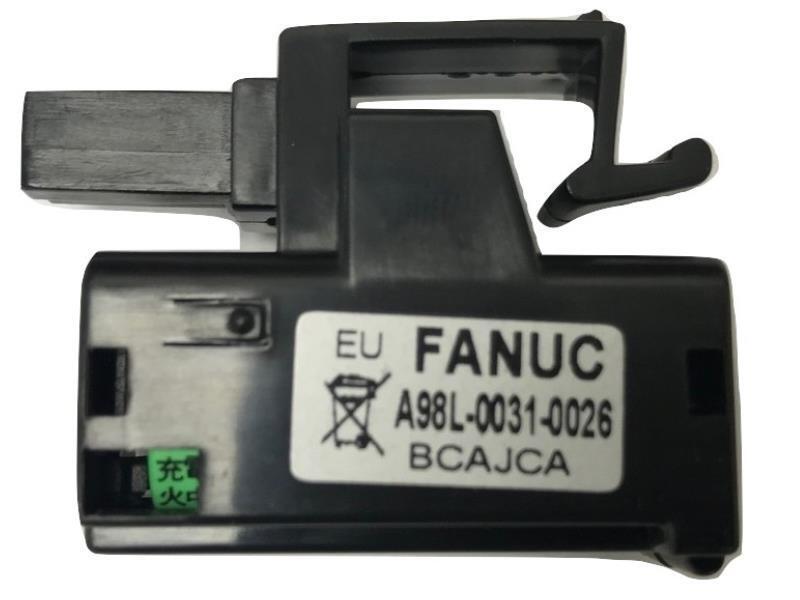 GE Fanuc A98L-0031-0026   A02B-0309-K102 3V Lithium PLC Battery