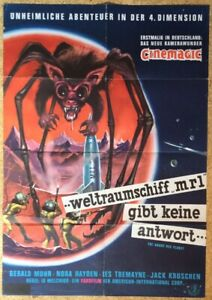 WELTRAUMSCHIFF-MR1-Horror-ANGRY-RED-PLANET-EA-Filmplakat-Monster