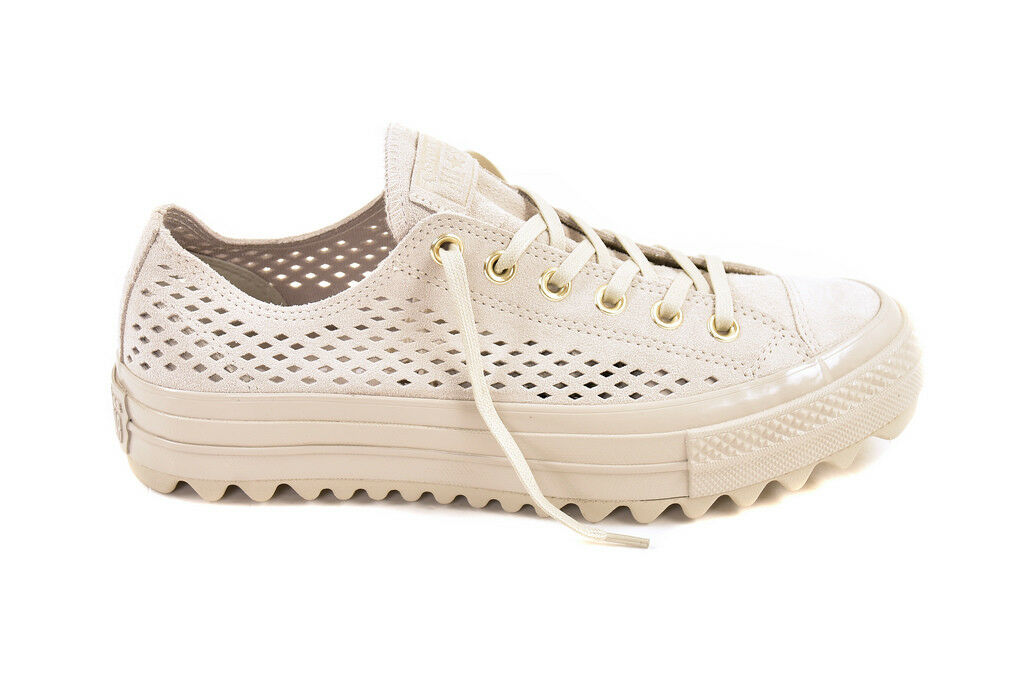 Converse Women's CTAS Lift Ripple OX 560652 shoes Grey UK 4    BCF88