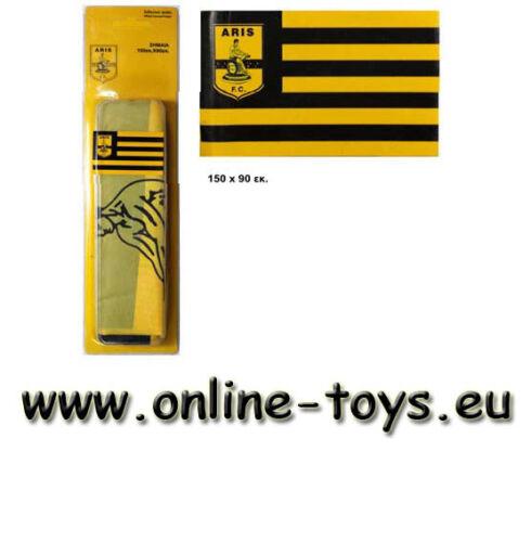 Aris Thessaloniki,XL Flagge,Flag150cmx90 Europa League,Fahne,Greece,Fanshop,new