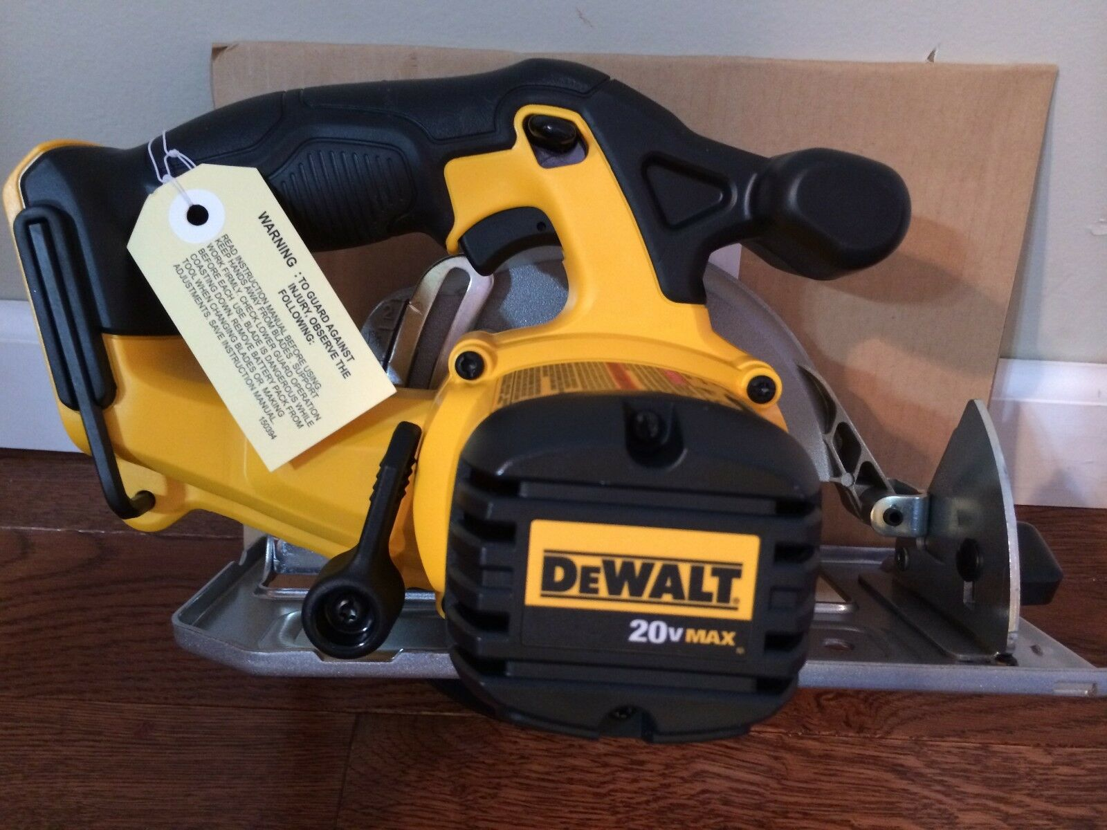 Dewalt dcs393 20v cordless circular handsaw ebay greentooth Choice Image